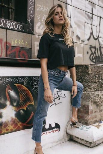 Cristina Marino - Outfit Casual Fitness Economico