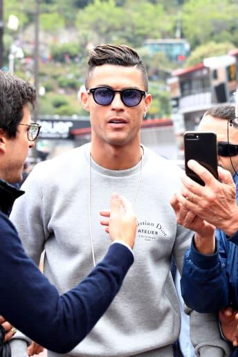 Cristiano Ronaldo - Outfit Casual Tutti i giorni Lusso