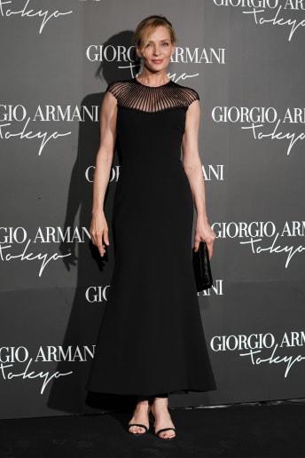 Uma Thurman - Outfit Chic Cerimonia Lusso