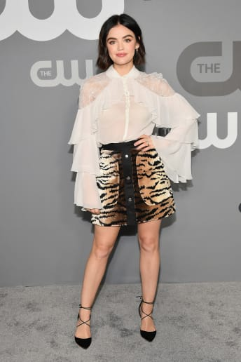 Lucy Hale - Outfit Chic Serata speciale Lusso
