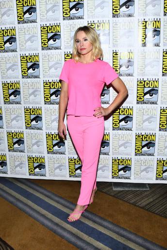 Kristen Bell - Outfit Casual Festival Fascia Media