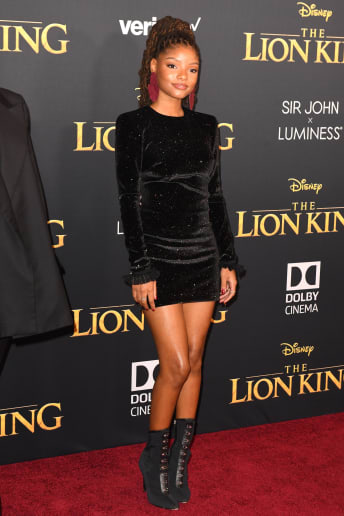 Halle Bailey - Outfit Chic Serata speciale Lusso