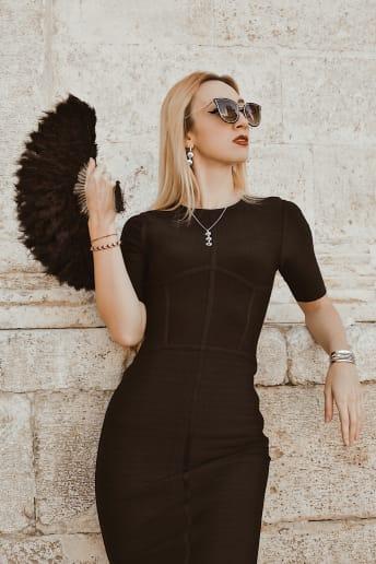 Enrica Sciarretta - Outfit Chic Serata speciale Lusso