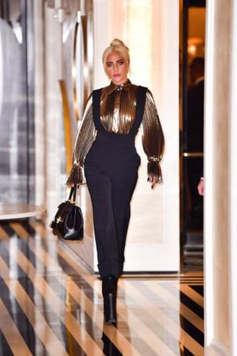 Lady Gaga - Outfit Chic Serata speciale Lusso
