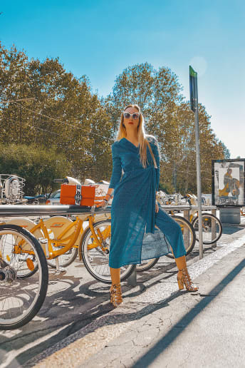 Enrica Sciarretta - Outfit Chic Cerimonia Fascia Media
