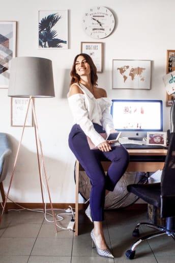 Laura Manfredi - Outfit Chic Ufficio Fascia Media