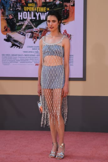 Margaret Qualley - Outfit Chic Cerimonia Lusso