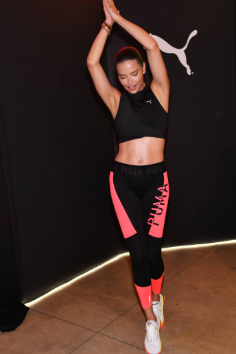 Adriana Lima - Outfit Casual Fitness Lusso