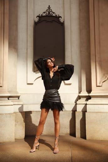 Marianna Zuliani - Outfit Rock Serata speciale Lusso