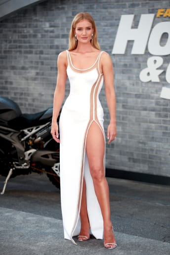 Rosie Huntington-Whiteley - Outfit Chic Cerimonia Lusso