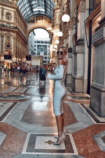 Carlotta Scarlini - Outfit Chic Serata speciale Fascia Media