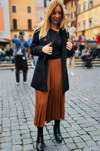 Chiara Famooss Paolini - Outfit Bon Ton Tutti i giorni Economico
