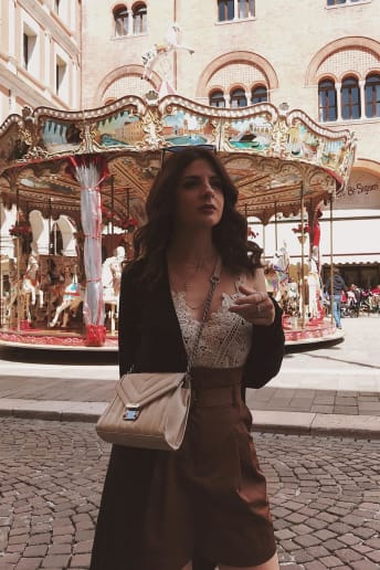 Irene Pila - Outfit Trendy Scuola / Università Economico