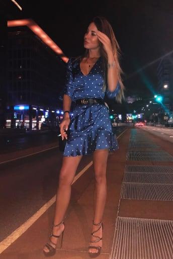 Giulia Francesca Riva - Outfit Sexy Serata speciale Fascia Media