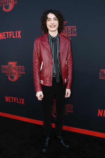 Finn Wolfhard - Outfit Vintage Tutti i giorni Lusso