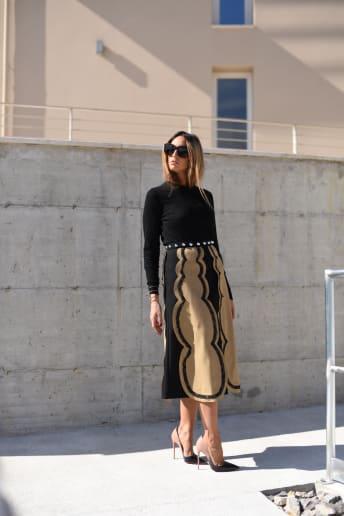 Elisa Taviti - Outfit Bon Ton Cerimonia Lusso