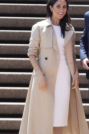 Meghan Markle - Outfit Chic Tutti i giorni Lusso