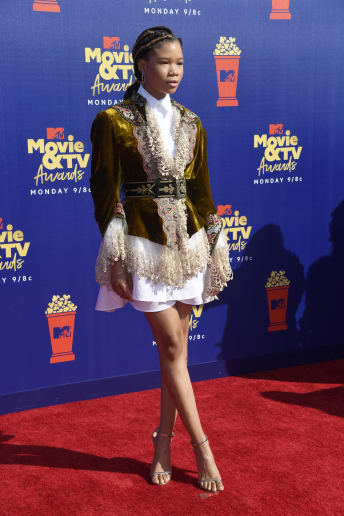 Storm Reid - Outfit Trendy Cerimonia Lusso