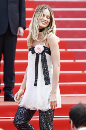 Margot Robbie - Outfit Chic Cerimonia Lusso