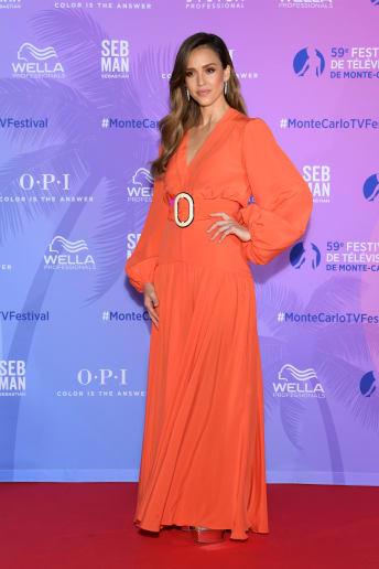 Jessica Alba - Outfit Chic Cerimonia Lusso