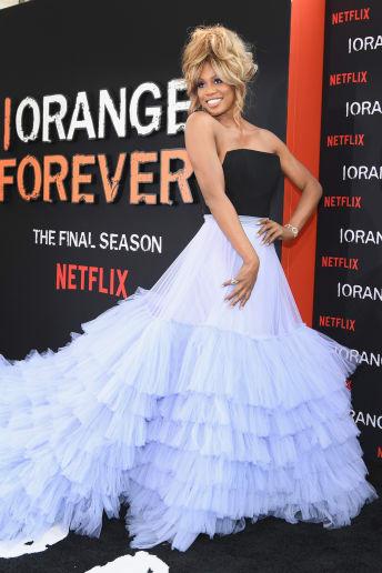 Laverne Cox - Outfit Chic Cerimonia Lusso