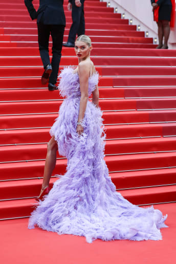 Elsa Hosk - Outfit Chic Cerimonia Lusso