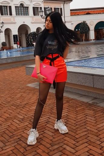 Irene Nicolao - Outfit Urban Discoteca Lusso