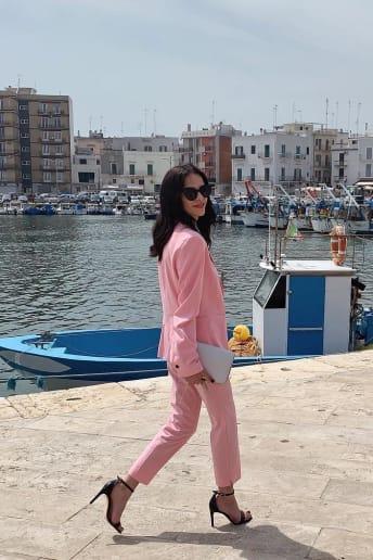 Elisabetta Laterza - Outfit Bon Ton Cerimonia Economico