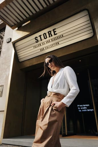 Erica Barca - Outfit Trendy Scuola / Università Lusso