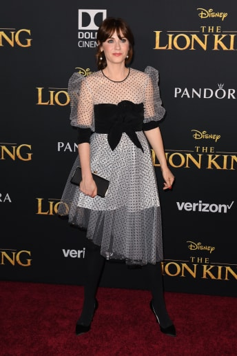 Zooey Deschanel - Outfit Chic Serata speciale Lusso
