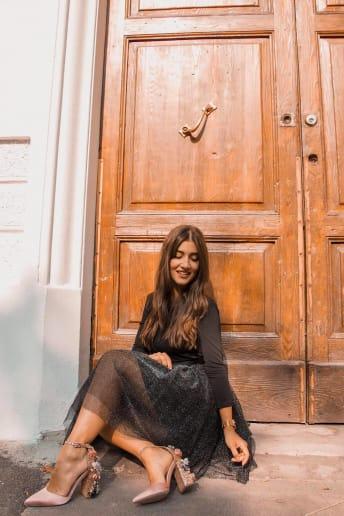 Arianna Cavina - Outfit Chic Serata speciale Fascia Media