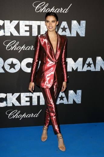 Sara Sampaio - Outfit Chic Cerimonia Lusso
