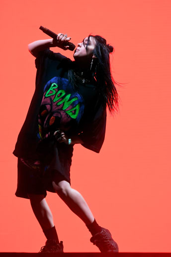 Billie Eilish - Outfit Urban Festival Fascia Media