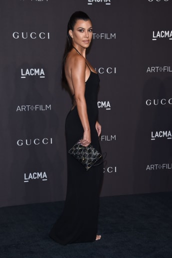 Kourtney Kardashian - Outfit Chic Cerimonia Lusso