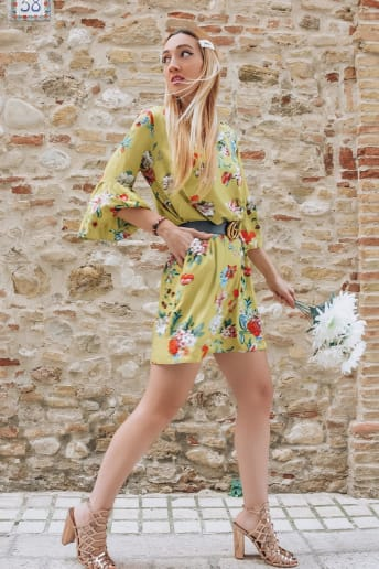 Enrica Sciarretta - Outfit Vintage Cerimonia Fascia Media