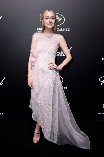 Dakota Fanning - Outfit Chic Cerimonia Lusso