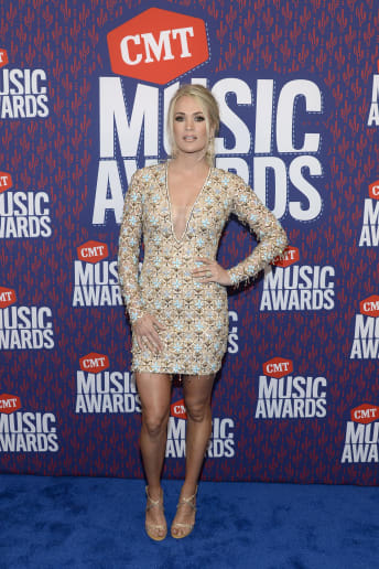 Carrie Underwood - Outfit Chic Cerimonia Lusso
