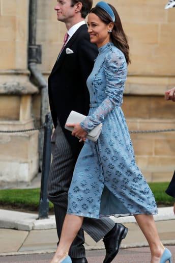 Pippa Middleton - Outfit Bon Ton Cerimonia Lusso