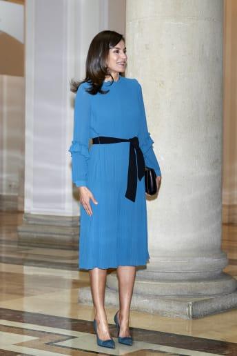 Letizia Ortiz - Outfit Bon Ton Cerimonia Economico