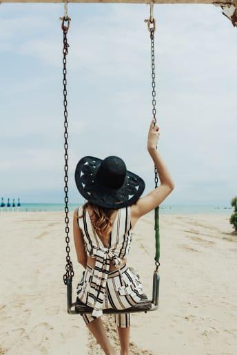 Alessia Melpignano - Outfit Chic Spiaggia Economico