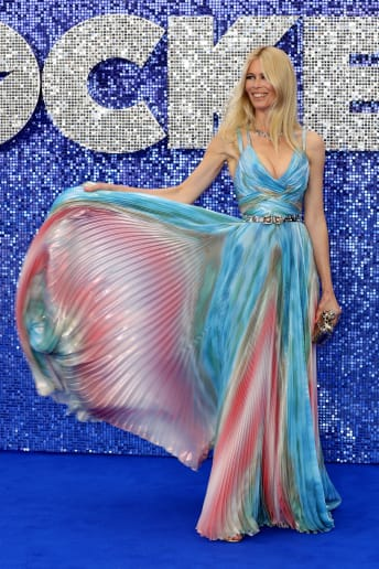 Claudia Schiffer - Outfit Chic Cerimonia Lusso