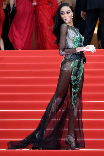 Winnie Harlow - Outfit Chic Cerimonia Lusso