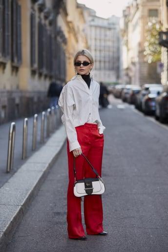 Caroline Daur - Outfit Bon Ton Ufficio Lusso