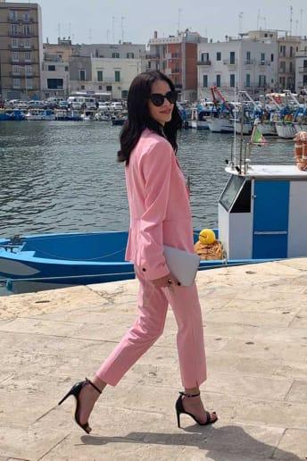 Elisabetta Laterza - Outfit Chic Cerimonia Economico