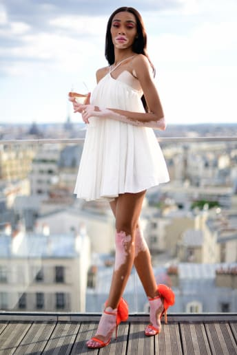 Winnie Harlow - Outfit Chic Serata speciale Lusso