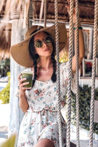 Federica Xotti - Outfit Spiaggia Economico