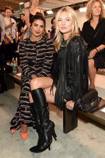 Kate Moss - Outfit Chic Cerimonia Fascia Media