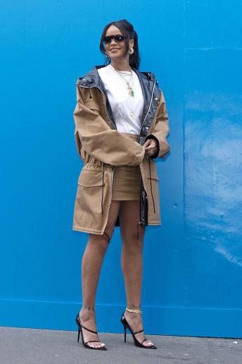 Rihanna - Outfit Casual Tutti i giorni Lusso