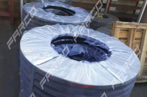 Cutting roll to roll and producing all kinds of metal packing straps