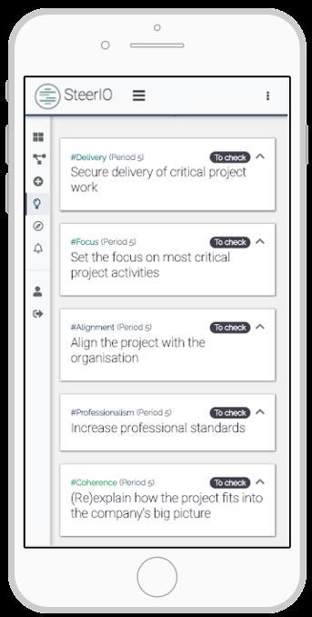 SteerIO Application v0.1 Smartphone Preview